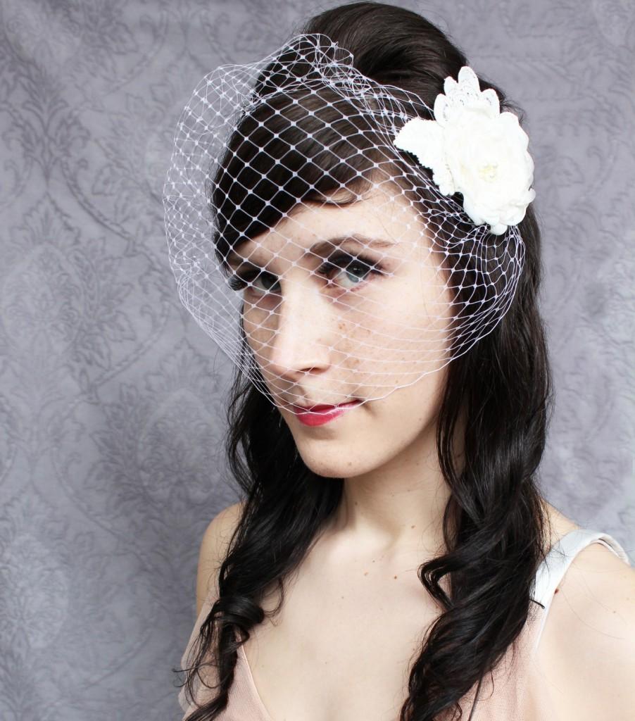 Exterior: Vintage Inspired Wedding Hair Accessories