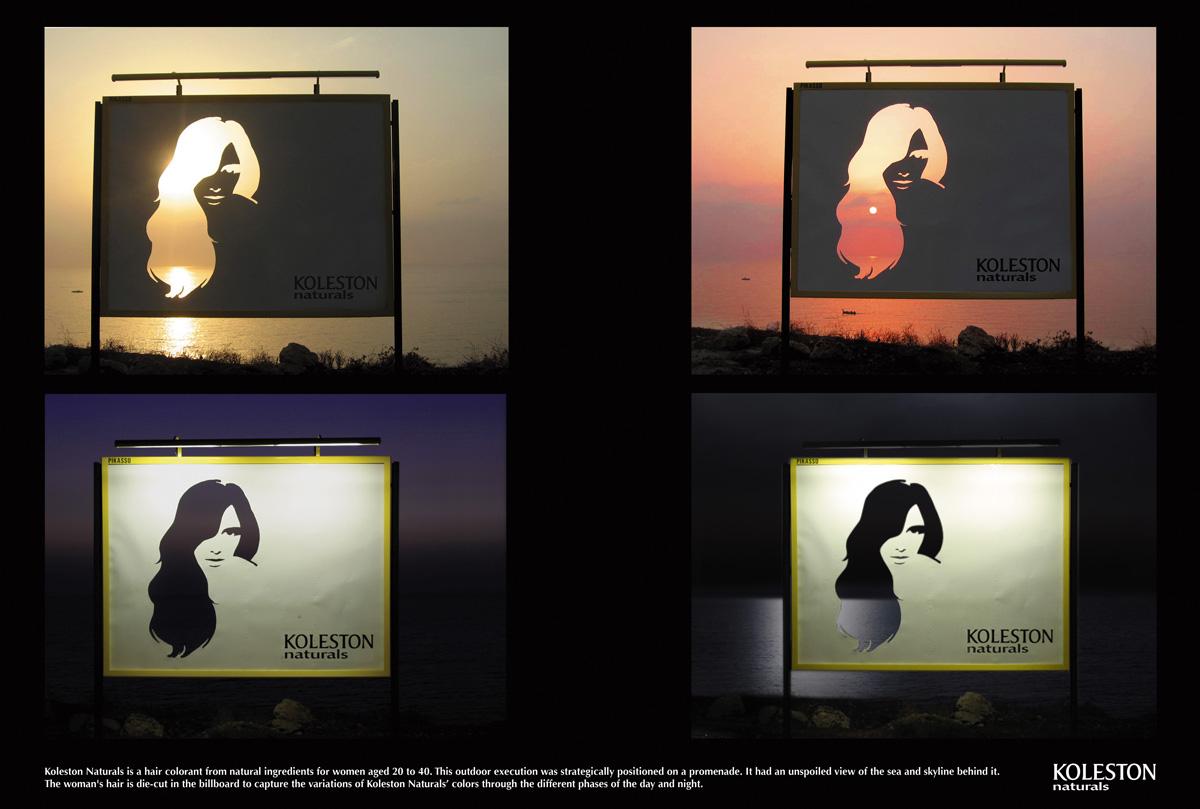 Exterior: Creative Ad For Koleston Hair Colour Product