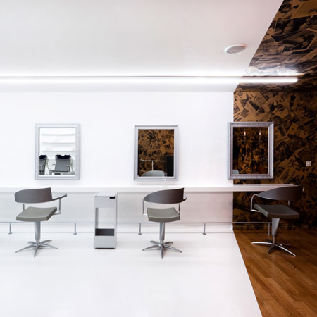 Bold and Unique Design at Nafi Salon in Switzerland - The Parlour by ...