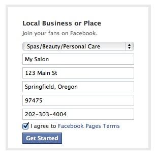 Facebook Local Business Details