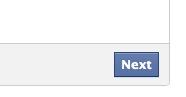 facebook next button