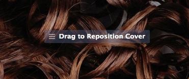 Drag to Reposition Facebook Cover Photo