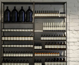 Great Product Display Ideas from Aesop - The Parlour by