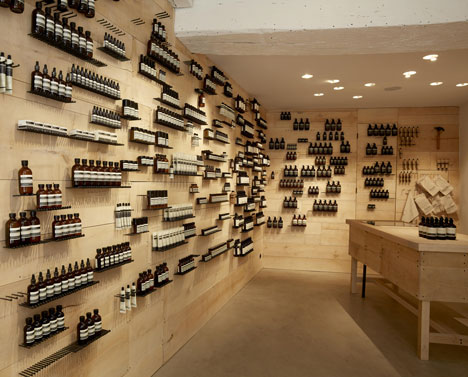 Great Product Display Ideas From Aesop The Parlour By