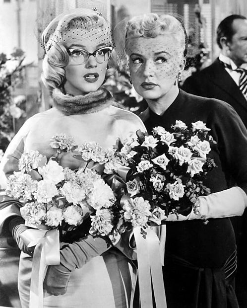 Exterior: How To Marry A Millionaire Vintage Hair Style