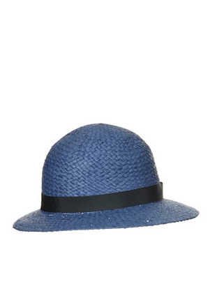 Top shop straw clouch hat