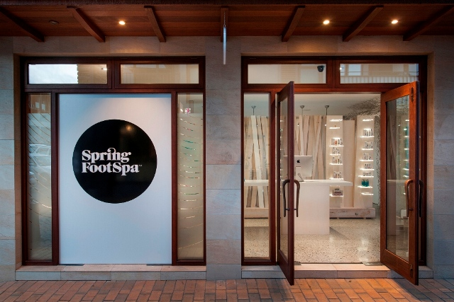 foot spa entrace