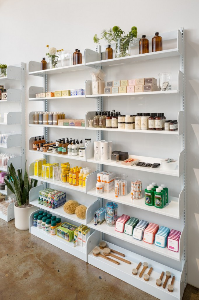 spruce product shelves