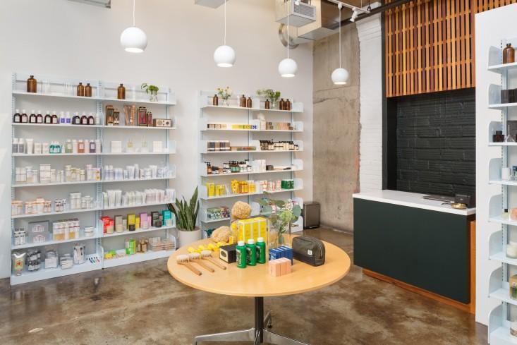 spruce shelves