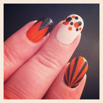 12 frightful and delightful halloween nail designs  the