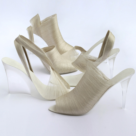 silk shoes multi