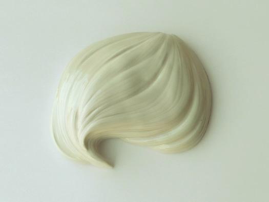 white hair ceramic
