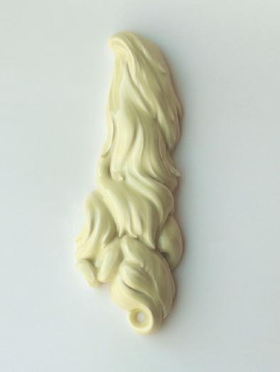 yellow ceramic hair