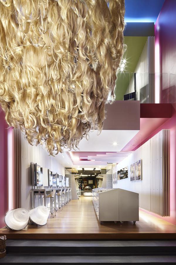 hair chandelier