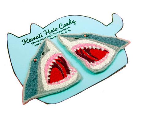 great-white-shark-hair-clip