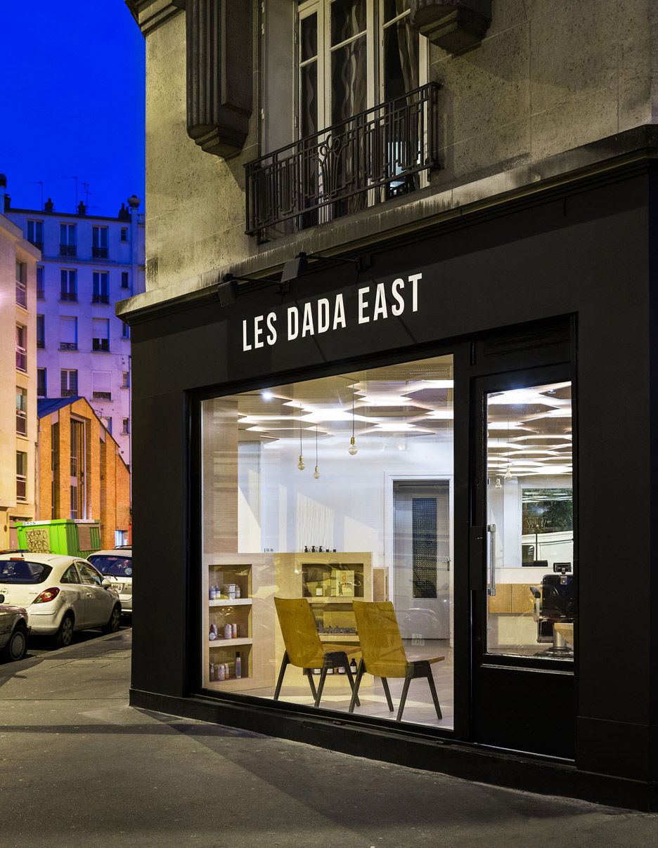Exterior: Gorgeous Interior Of Les Dada East Salon In Paris