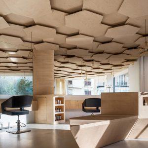 Gorgeous interior of Les Dada East Salon in Paris
