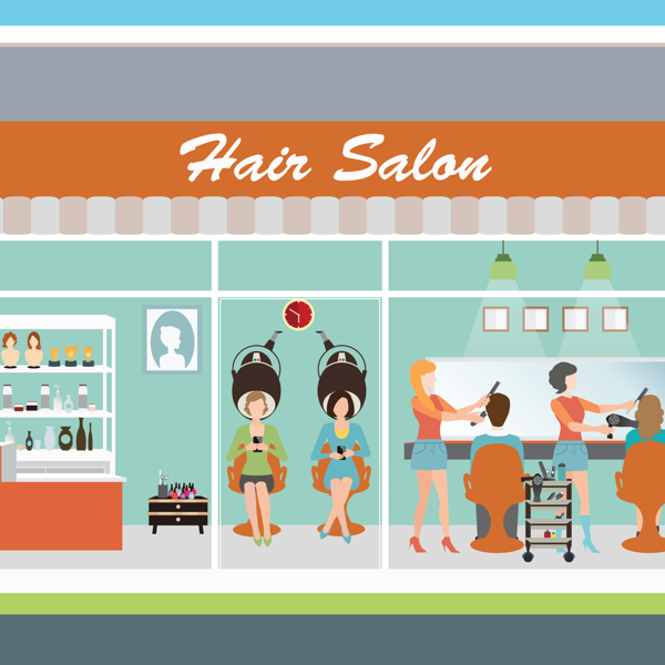 Another hair salon. Does your online booking software tempt your clients to cheat on you?
