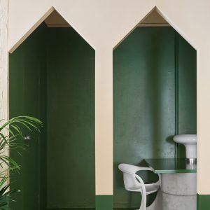 Bold Colour in Salon Design
